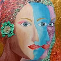 Canvas, mixed media (oil, acrylic) , 70х50, 2014