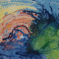 Acrylic on Canvas,  90x110, 2012