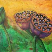 Canvas, mixed media , 50х100, 2014